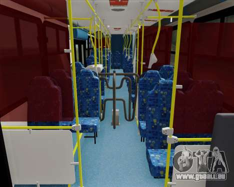 Caio Induscar Apache S21 Volksbus 17-210 Manaus pour GTA San Andreas vue arrière