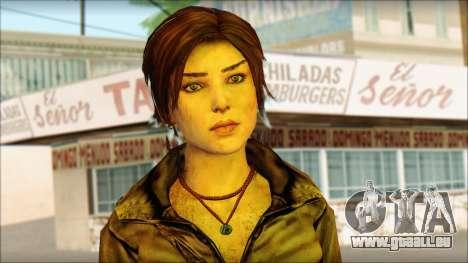 Tomb Raider Skin 6 2013 pour GTA San Andreas troisième écran