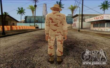 California National Guard Skin 1 für GTA San Andreas zweiten Screenshot