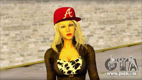 Eva Girl v2 pour GTA San Andreas troisième écran