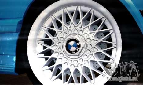 BMW M5 E28 für GTA San Andreas Rückansicht
