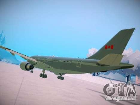 Canadian Forces Airbus CC150 Polaris pour GTA San Andreas vue de droite