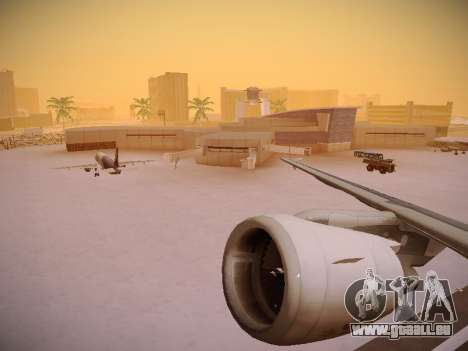 Airbus A320-214 LAN Airlines pour GTA San Andreas roue