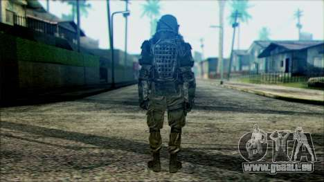 Les soldats aéroportés (CoD: MW2) v3 pour GTA San Andreas deuxième écran