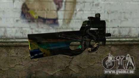 P90 from PointBlank v1 für GTA San Andreas zweiten Screenshot