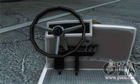 Airtug FlyUS (IVF) für GTA San Andreas zurück linke Ansicht