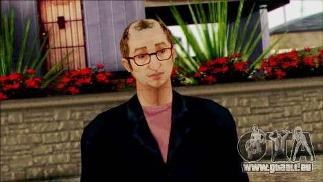 Rosenberg from Beta Version pour GTA San Andreas troisième écran