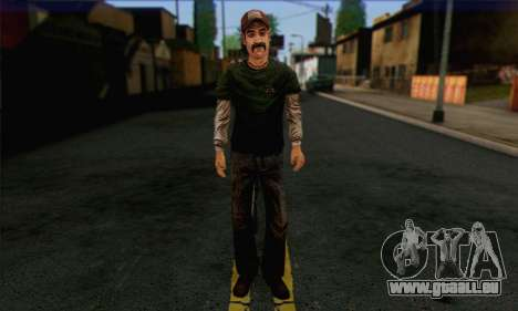 Kenny from The Walking Dead v1 pour GTA San Andreas