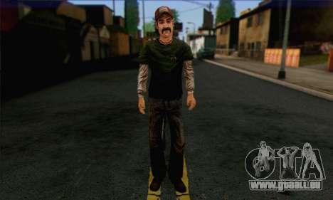 Kenny from The Walking Dead v1 für GTA San Andreas