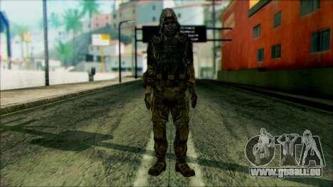 Ein Soldat aus dem team 4 Phantom für GTA San Andreas
