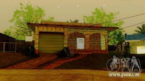 Neue Texturen Häuser auf der grove street für GTA San Andreas fünften Screenshot