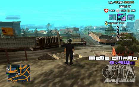 C-HUD by SampHack v.12 für GTA San Andreas dritten Screenshot