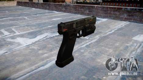 Pistolet Glock 20 ce numériques pour GTA 4 secondes d'écran