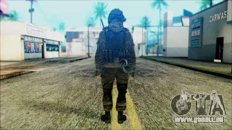 Soldaten airborne (CoD: MW2) v5 für GTA San Andreas zweiten Screenshot