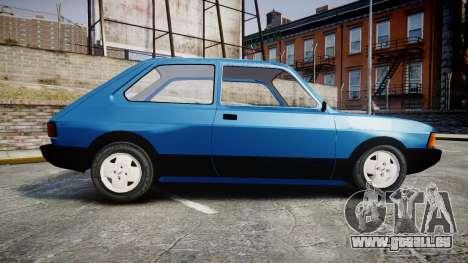 Fiat 147 Spazio-TR pour GTA 4 est une gauche