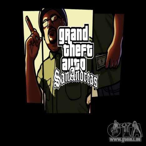 HD écran de chargement et de menus pour GTA San Andreas quatrième écran