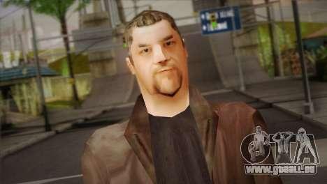 Russian Mafia Skin pour GTA San Andreas troisième écran
