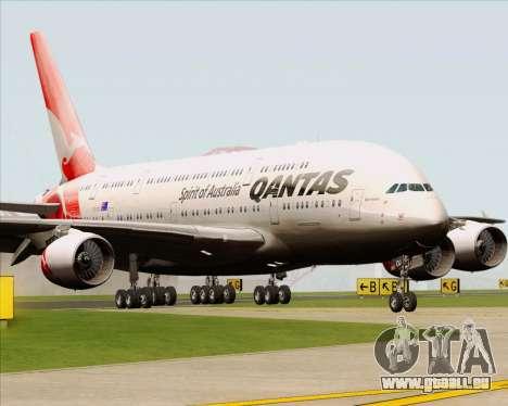 Airbus A380-841 Qantas pour GTA San Andreas laissé vue