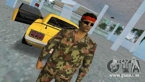 Camo Skin 09 GTA Vice City pour la troisième écran