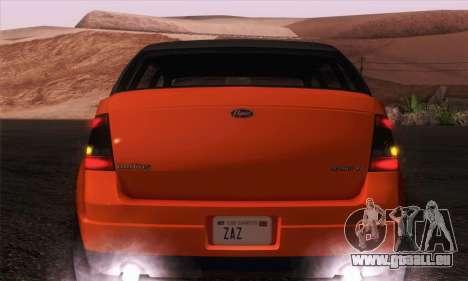 Vapid Radius 1.0 (IVF) für GTA San Andreas rechten Ansicht