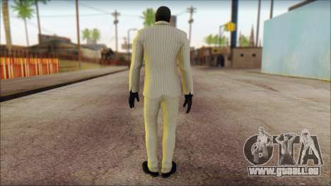 Black Mask From Batman: Arkham Origins für GTA San Andreas zweiten Screenshot