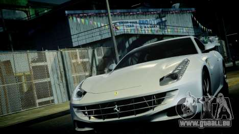 Ferrari FF 2011 v1.5 pour GTA 4 est une vue de dessous