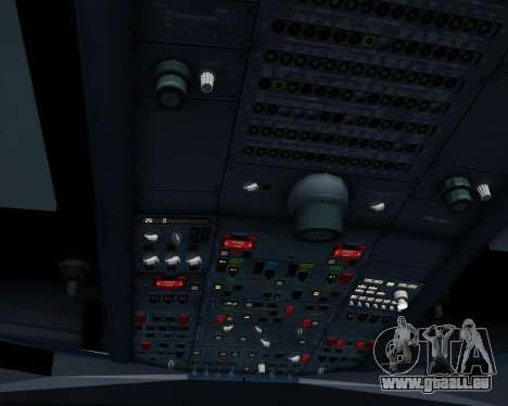 Airbus A330-300 Emirates pour GTA San Andreas moteur