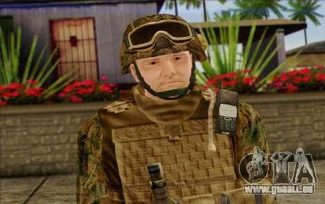 Les soldats de l'Armée AMÉRICAINE (ArmA II) 2 pour GTA San Andreas troisième écran