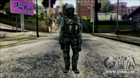 Kämpfer (PLA) v5 für GTA San Andreas