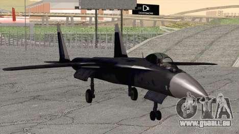 Sukhoi SU-47 Berkut from H.A.W.X. 2 pour GTA San Andreas