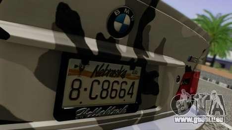 BMW M3 E46 Coupe 2005 Hellaflush v2.0 pour GTA San Andreas vue intérieure
