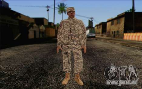 California National Guard Skin 4 pour GTA San Andreas
