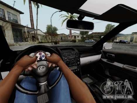 Toyota Altezza Addinol pour GTA San Andreas vue de droite