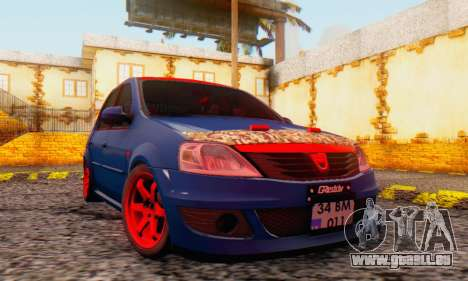Dacia Logan Turkey Tuning für GTA San Andreas Seitenansicht