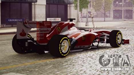Ferrari F138 v2 pour GTA 4 est une gauche