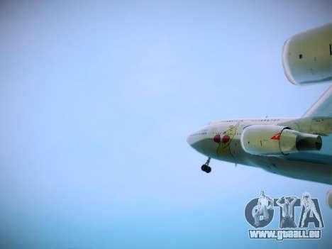 Boeing 747-438 Qantas Boxing Kangaroo für GTA San Andreas Seitenansicht
