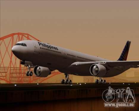 Airbus A330-300 Philippine Airlines pour GTA San Andreas vue arrière