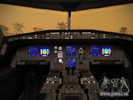 Airbus A340-600 Lufthansa pour GTA San Andreas roue