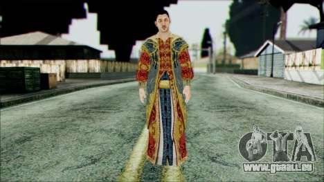 Suleiman from Assassins Creed für GTA San Andreas