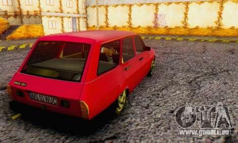 Dacia 1310 Break WUC pour GTA San Andreas laissé vue