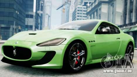 Maserati Gran Turismo MC Stradale 2014 für GTA 4