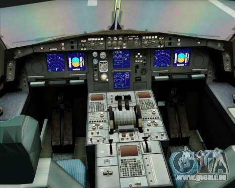 Airbus A330-300 Gulf Air pour GTA San Andreas vue de côté