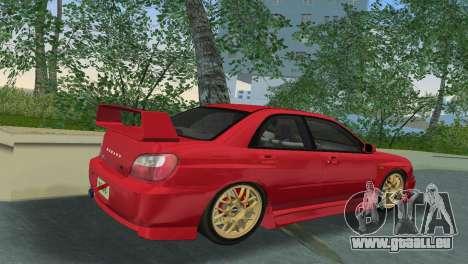 Subaru Impreza WRX 2002 Type 6 für GTA Vice City rechten Ansicht