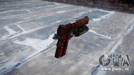 Pistolet Kimber 1911 Art de la Guerre pour GTA 4 secondes d'écran