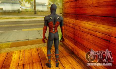 Skin The Amazing Spider Man 2 - DLC Anti-Electro für GTA San Andreas zweiten Screenshot