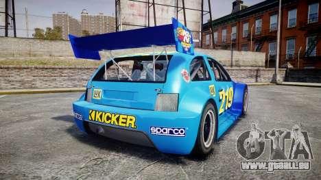 Zenden Cup Kicker pour GTA 4 Vue arrière de la gauche