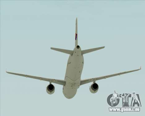 Airbus A321-231 Spanair pour GTA San Andreas vue de dessus