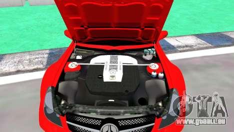 Mercedes Benz SL65 AMG Black Series für GTA 4 rechte Ansicht