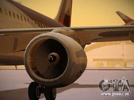 Airbus A320-214 LAN Airlines pour GTA San Andreas moteur