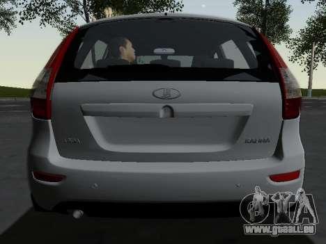 Lada Kalina 2 für GTA San Andreas Seitenansicht